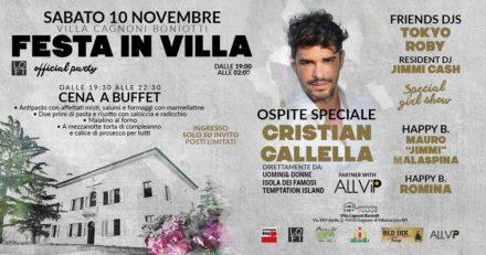 10.11.018 CRISTIAN GALLELLA @ LOFT PARTY c/o VILLA CAGNONI BONIOTTI