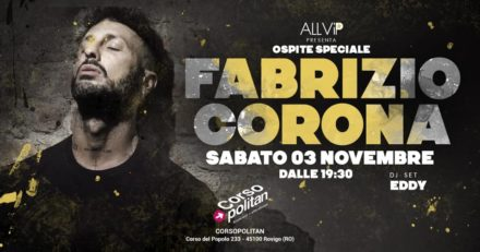 03.11.018 FABRIZIO CORONA @ CORSOPOLITAN (RO)