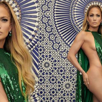 Jennifer Lopez a 49 anni posa nuda a metà…che fisico!