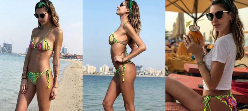 Melissa Satta: vacanze a Dubai da single… è davvero finita?