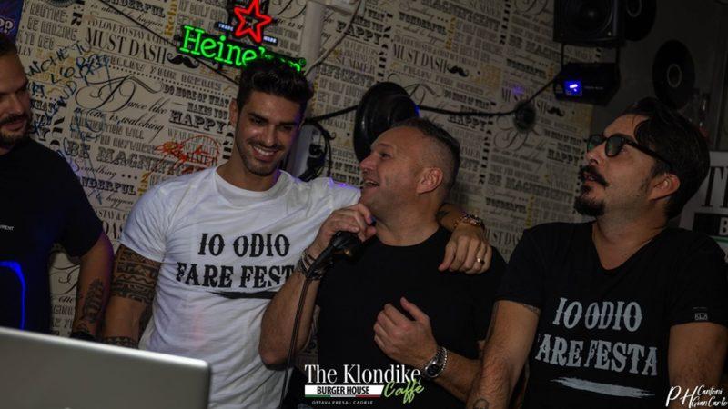 """Cristian Gallella testimonial ufficiale per """"Io odio fare festa"""" al """"The Klondike"""" di Caorle…"""